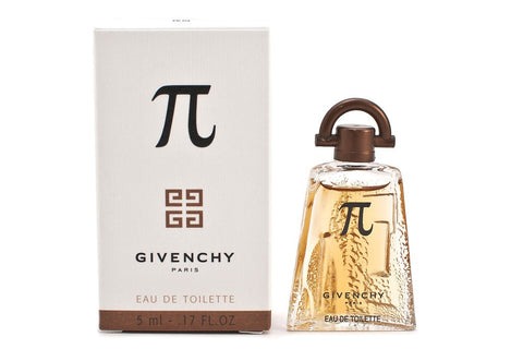 Pi for Men by Givenchy EDT Miniature Splash 0.17 oz - Discount Fragrance at Cosmic-Perfume