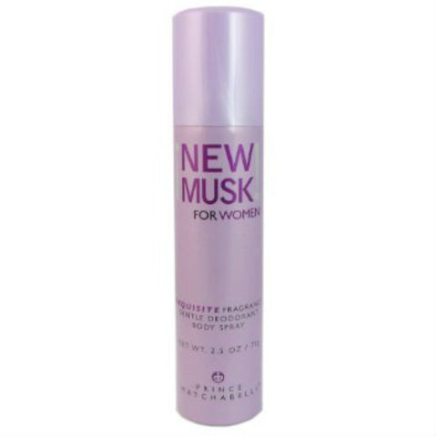 New Musk for Women by Prince Matchabelli Fragrance Body Spray 2.5 Oz - Cosmic-Perfume