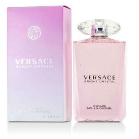 Bright Crystal for Woman Versace  Perfumed Bath & Shower Gel 6.7 oz - Cosmic-Perfume