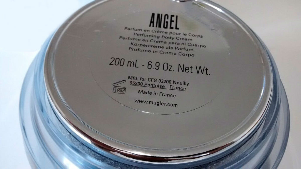 Angel for Women by Thierry Mugler Perfuming Body Cream 6.9 oz (Unboxed)