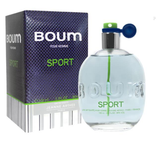 Boum Sport for Men by Jeanne Arthes EDT Spray 3.3 oz - Discount Fragrance at Cosmic-Perfume