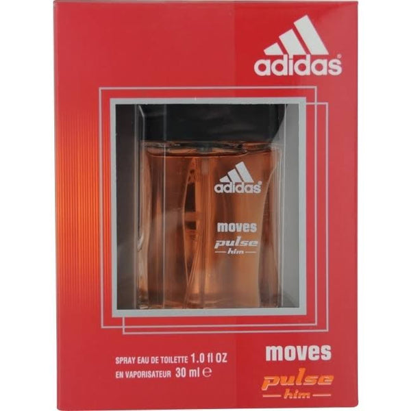 Adidas Moves Pulse for Men EDT Spray 1.0 oz - Cosmic-Perfume