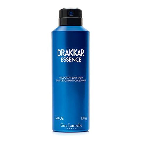 DRAKKAR ESSENCE for Men by Guy Laroche Deodorant Body Spray 6.0 oz