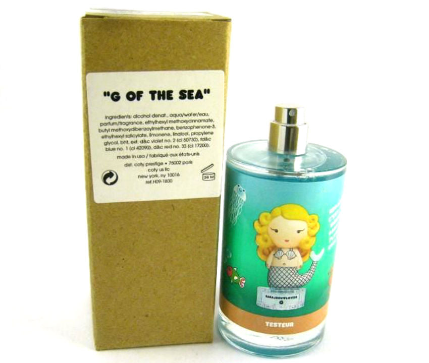 Harajuku Lovers G OF THE SEA by Gwen Stefaini EDT Spray 3.4 oz (Tester)