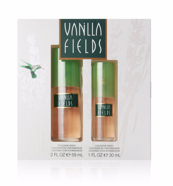 Vanilla Fields for Women by Coty 2-piece Fragrance Gift Set - Discount Fragrance at Cosmic-Perfume