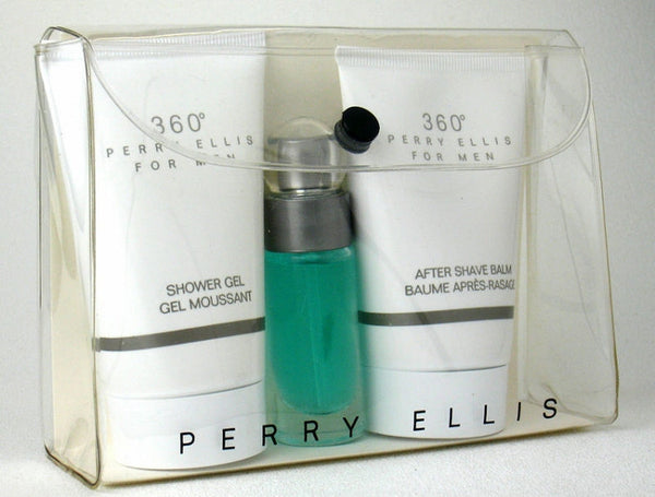 360 for Men by Perry Ellis 3 Pc Mini Gift Set - Discount Fragrance at Cosmic-Perfume