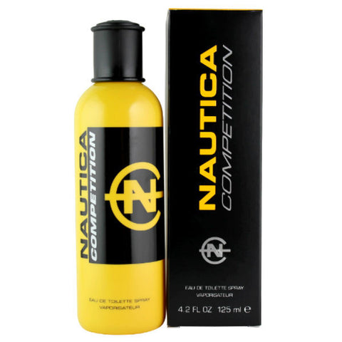 Nautica Competition (Yellow) for Men by Nautica EDT Spray 4.2 oz - Cosmic-Perfume