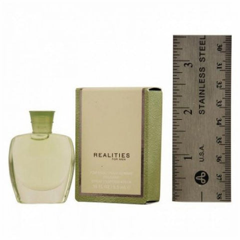 Realities for Men by Liz Claiborne Cologne Miniature Splash 0.18 oz - Discount Fragrance at Cosmic-Perfume