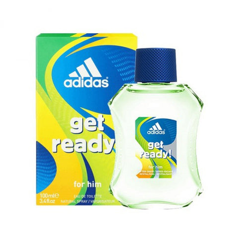 Adidas Get Ready for Men by Adidas EDT Spray 3.4 oz - Discount Fragrance at Cosmic-Perfume