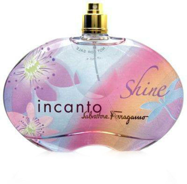 Incanto Shine for Women by Salvatore Ferragamo EDT Spray 3.4 oz (Tester) - Discount Fragrance at Cosmic-Perfume