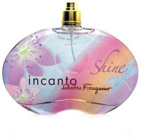 Incanto Shine for Women by Salvatore Ferragamo EDT Spray 3.4 oz (Tester) - Cosmic-Perfume