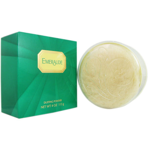 Emeraude for Women by Coty Dusting Powder 4.0 oz - Discount Bath & Body at Cosmic-Perfume