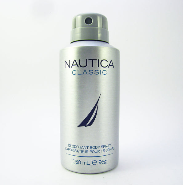 Nautica Classic for Men by Nautica Deodorant Body Spray 150 ml (96 gr) - Discount Bath & Body at Cosmic-Perfume