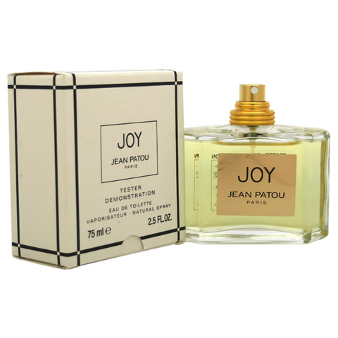 Joy for Women by Jean Patou Eau de Toilette Spray 2.5 oz (Tester) - Cosmic-Perfume