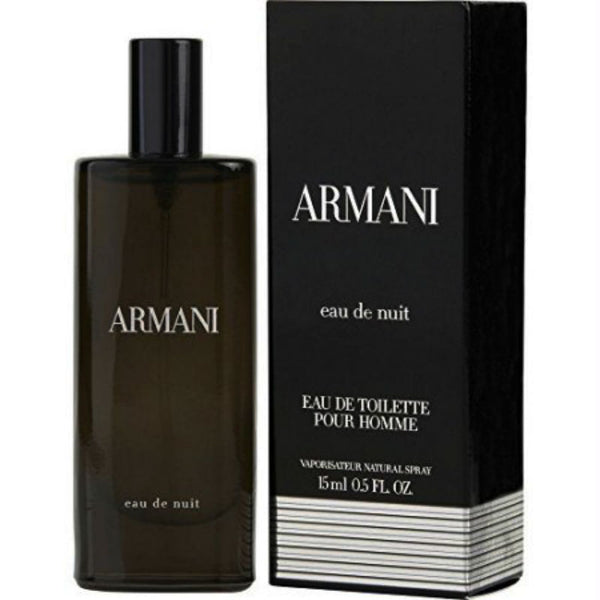 Armani Eau de Nuit for Men by Giorgio Armani EDT Spray 0.50 oz - Cosmic-Perfume