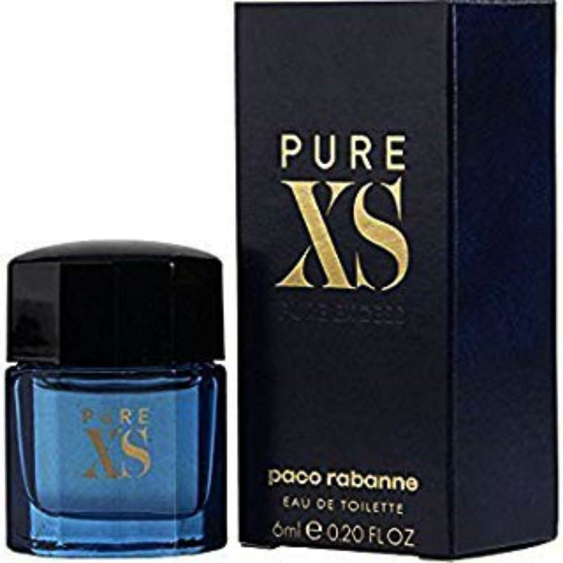 Pure XS for Men by Paco Rabanne EDT Splash Miniature 0.2 oz