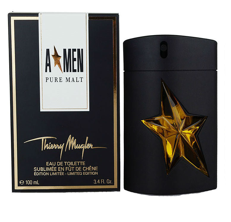 A * MEN Angel Pure Malt for Men by Thierry Mugler EDT Spray 3.4 oz - Cosmic-Perfume