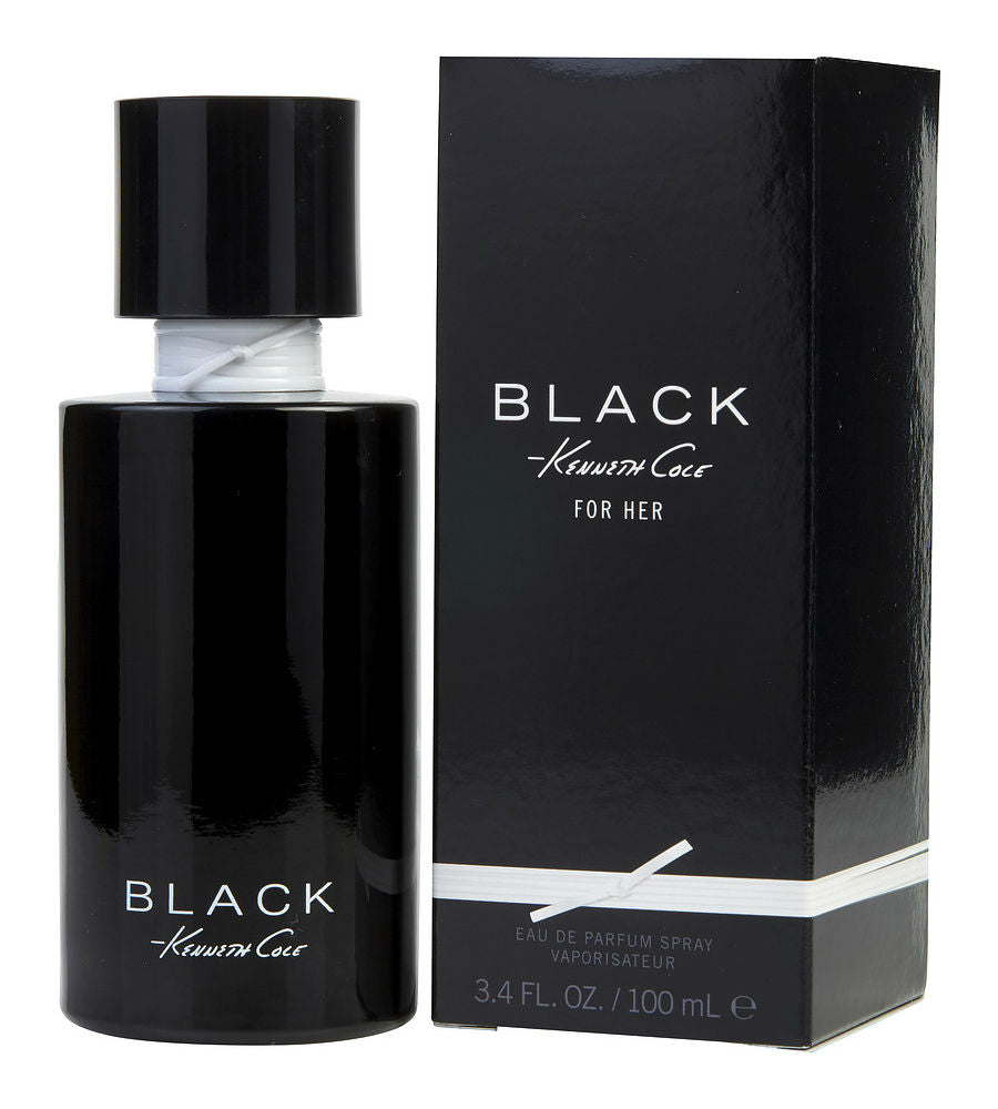 Kenneth Cole Black for Women by Kenneth Cole EDP Spray 3.4 oz - Cosmic-Perfume