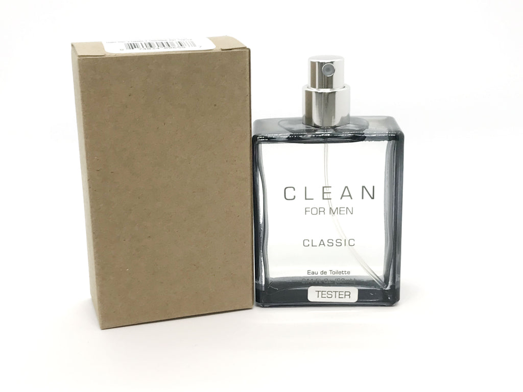 Clean Classic for Men EDT Spray 2.14 oz  (Tester)
