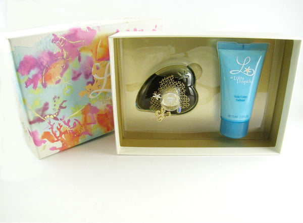 L de Lolita Lempicka for Women EDP Spray 1.7 oz + Body Lotion 2.5 oz - 2 pc Gift Set - Discount Fragrance at Cosmic-Perfume