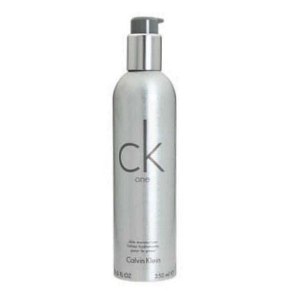 Ck One Unisex by Calvin Klein Skin Moisturizer Lotion 8.5 oz - Discount Bath & Body at Cosmic-Perfume