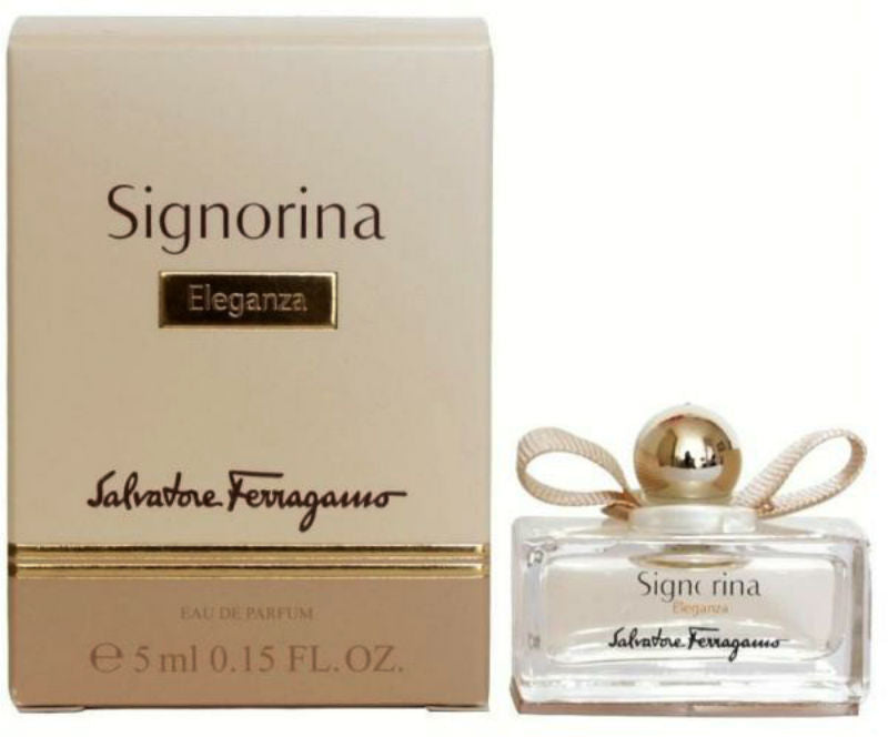 Signorina Eleganza for Women by Salvatore Ferragamo EDP Miniature 0.15 oz