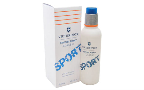 Swiss Army Classic Sport for Men by Victorinox EDT Spray 3.4 oz - Cosmic-Perfume