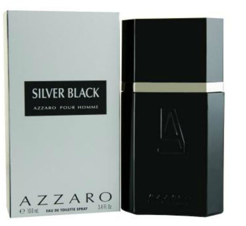 Azzaro Silver Black for Men by Loris Azzaro EDT Spray 3.4 oz - Discount Fragrance at Cosmic-Perfume