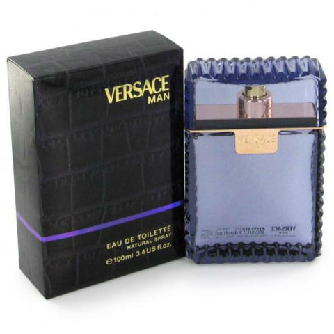 Versace Man by Gianni Versace EDT Spray 3.4 oz - Cosmic-Perfume