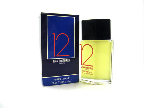 12 Jean Couturier for Men After Shave Splash 1.0 oz *Damaged Box