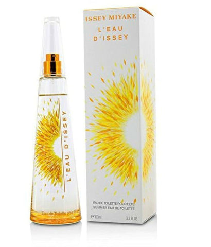 L'eau D'Issey for Women by Issey Miyake Summer EDT Spray (2016 edition) 3.3 oz - Cosmic-Perfume