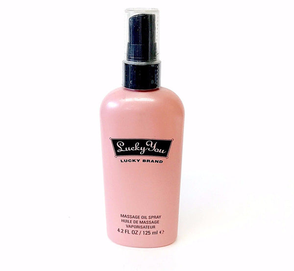 Lucky You for Women by Liz Claiborne Massage Oil Spray 4.2 oz - Cosmic-Perfume