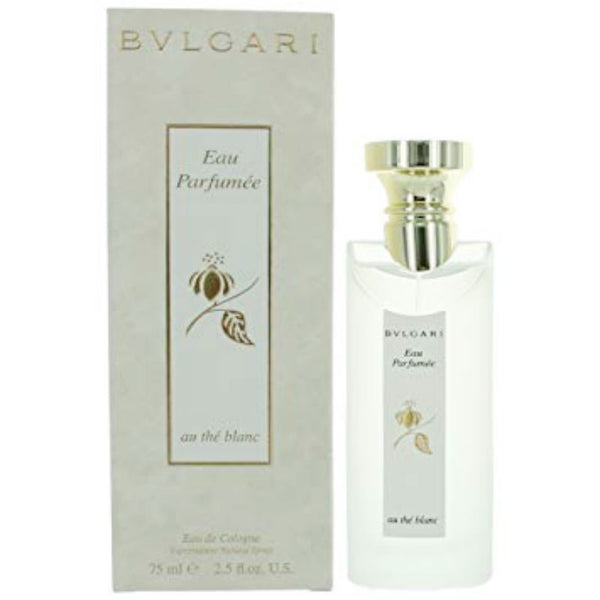 Bvlgari Eau Parfumee Au the Blanc (Unisex) Eau de Cologne Spray 2.5 oz - Cosmic-Perfume