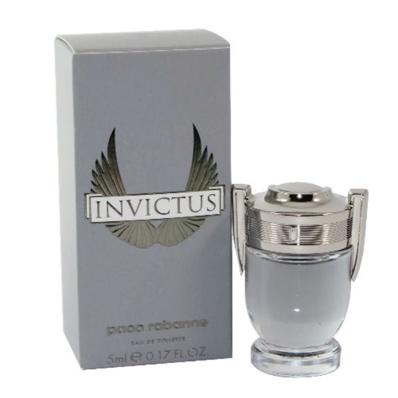 Invictus for Men Paco Rabanne Eau de Toilette Mini Splash 0.17 oz - Cosmic-Perfume