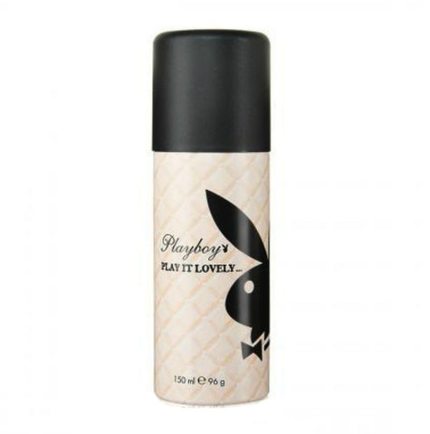 Playboy Play It Lovely for Women by Coty Deodorant Spray 5.0 oz - Cosmic-Perfume