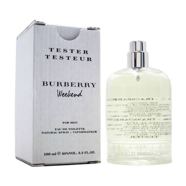 Burberry Weekend for Men by Burberry EDT Spray 3.3 oz (Tester) - Discount Fragrance at Cosmic-Perfume