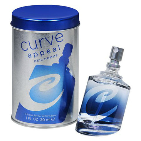 Curve Appeal for Men by Liz Claiborne Cologne Spray 1.0 oz - Discount Fragrance at Cosmic-Perfume