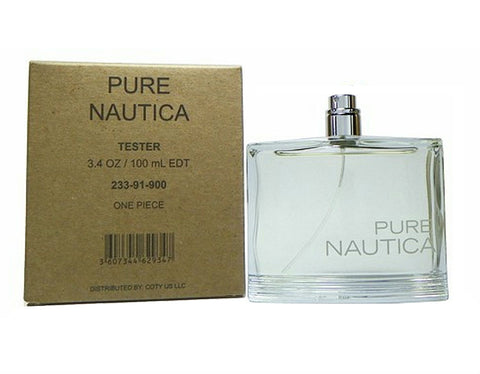 Nautica Pure for Men by Nautica EDT Spray 3.4 oz (Tester) - Cosmic-Perfume