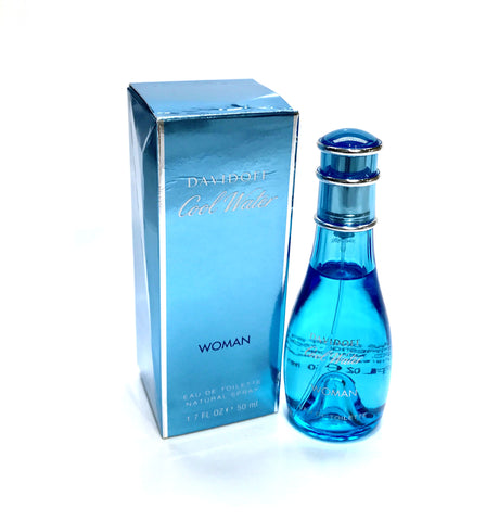 COOL WATER for Women by Davidoff EDT Spray 1.7 oz *Dented Box - Cosmic-Perfume