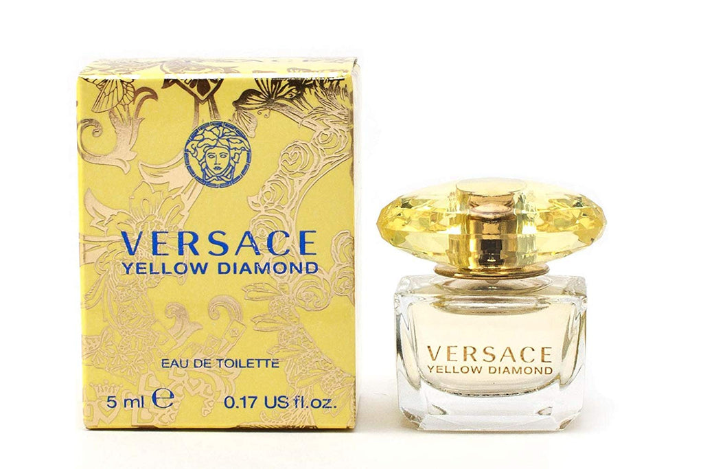 Yellow Diamond for Women by Versace EDT Miniature Splash 0.17 oz - Cosmic-Perfume
