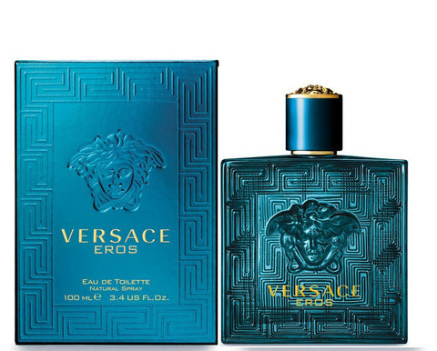 Versace EROS for Men by VERSACE EDT Spray 3.4 oz - Discount Fragrance at Cosmic-Perfume