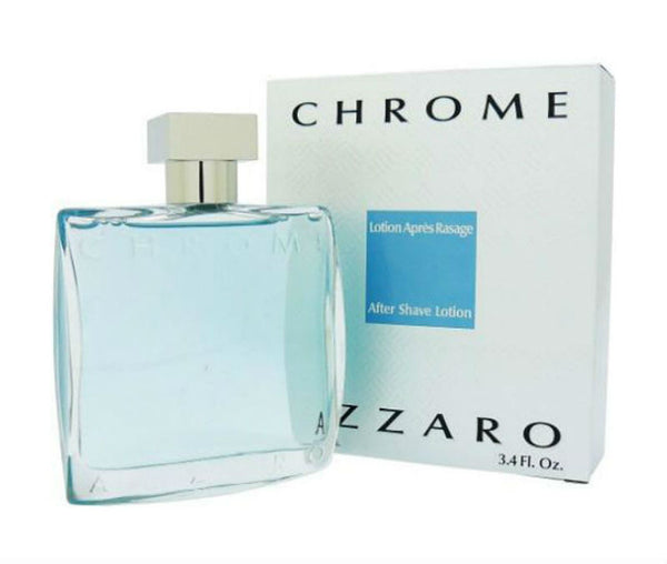Azzaro Chrome for Men by Azzaro After Shave Splash 3.4 oz - Cosmic-Perfume
