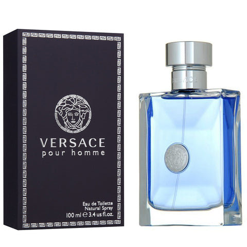 Versace pour Homme for Men by Gianni Versace EDT Spray 3.4 oz - Discount Fragrance at Cosmic-Perfume