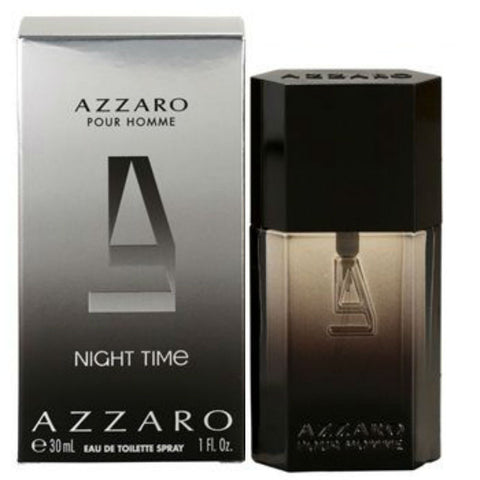 Azzaro Night Time for Men by Loris Azzaro EDT Spray 1.0 oz - Discount Fragrance at Cosmic-Perfume