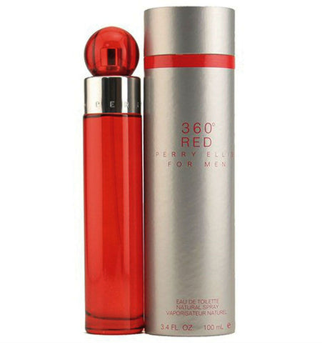 360 RED for Men by Perry Ellis EDT Spray 3.4 oz - Discount Fragrance at Cosmic-Perfume