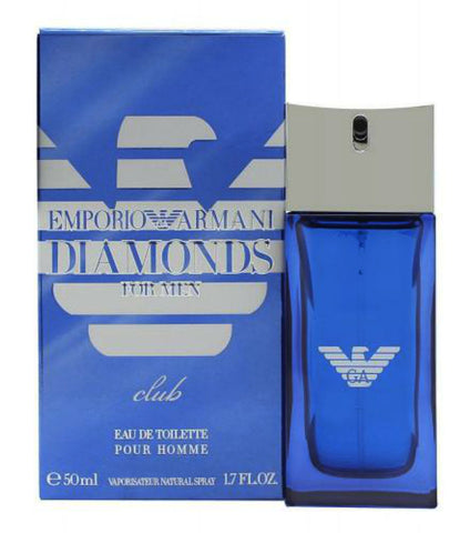 Emporio Armani Diamonds Club for Men by Giorgio Armani Eau de Toilette Spray 1.7 oz - Cosmic-Perfume