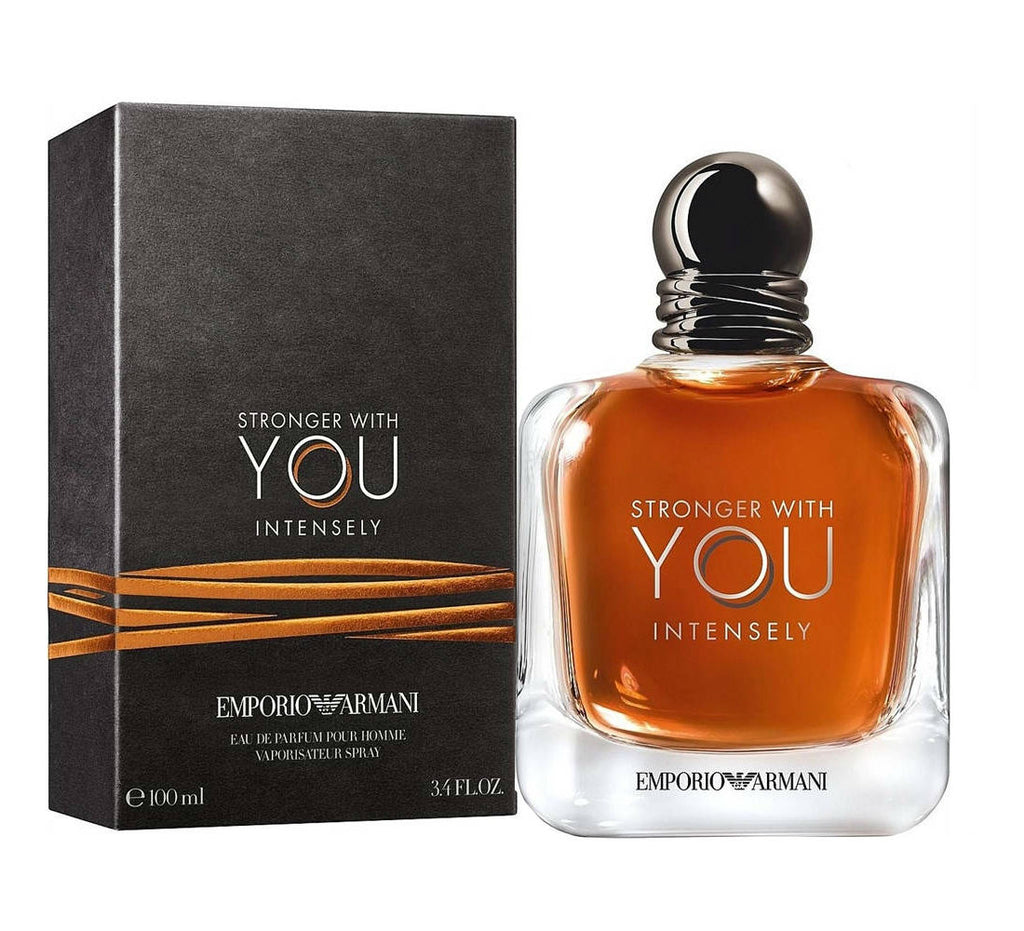 Stronger With You INTENSELY for Men by Emporio Armani EDP Spray 3.4 oz
