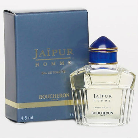 Jaipur Pour Homme for Men by Boucheron EDT Splash Miniature 0.15 oz - Discount Fragrance at Cosmic-Perfume