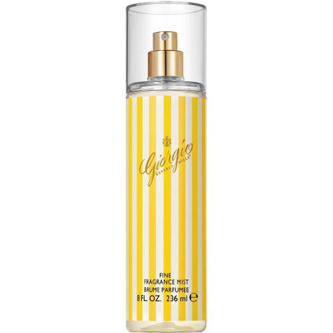 Giorgio (Yellow) for Women by Giorgio Beverly Hills Fragrance Mist Spray 8.0 oz - Cosmic-Perfume