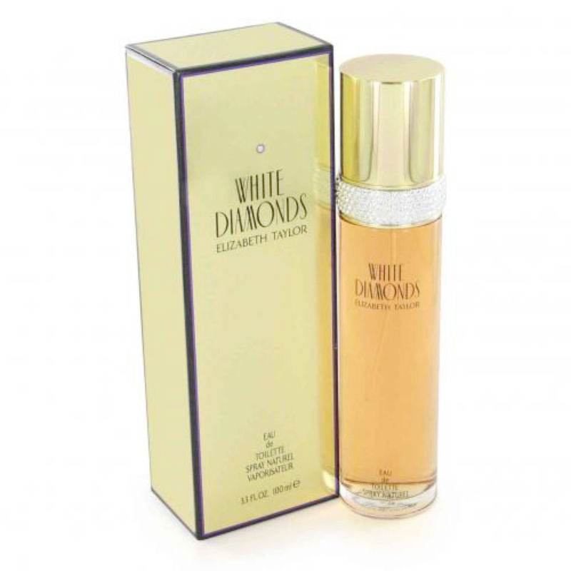 White Diamonds for Women by Elizabeth Taylor EDT Spray 3.3 oz - Cosmic-Perfume